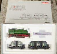 Märklin 26504 Zugpackung Henkel mit 4-achsiger Dampspeicherlok Epoche 3 Digital