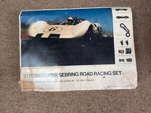 Strombecker 1/32 Scale Sebring Race Car Set