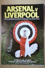 1980 FA Cup Semi Final- ARSENAL v LIVERPOOL, 12th April
