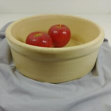 Mixing Cake Bowl With Straight Sides Vintage Crock Pottery