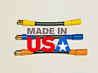 6.5MM Bullet Male To Female 3 Inch ESC Extension Leads 10AWG 200C SILICONE Wire