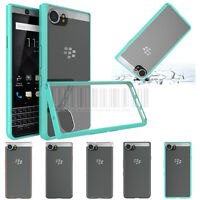 Slim Hybrid Clear Protective Hard Case Shockproof  Cover For Blackberry Keyone