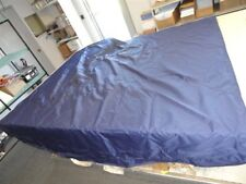 "FOREST RIVER 4 BOW DOUBLE BIMINI CAMPER TOP NAVY BLUE 121"" X 115"" BOAT"