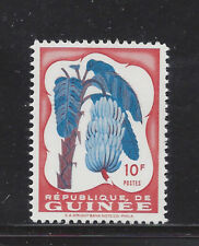 Guinea 175 Mnh Bananas *Missing Yellow Color*