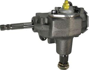 Borgeson Steering Box; Manual; OEM Saginaw 525 Series; 3/4-30 Spline; NEW