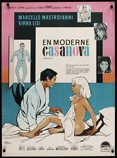 CASANOVA 70 Danish A1 movie poster MASTROIANNI VIRNA LISI MICHELE MERCIER