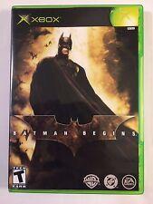 Batman Begins - Xbox - Replacement Case - No Game