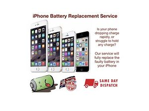 Iphone 6 6s Battery Replacement Service - Same day repair and return 📱✅