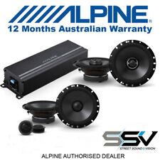 Alpine Power Pack Amplifier & Type S Speaker Package
