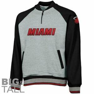 Miami Heat NBA Basketball Men's 1/4 Zip Pullover Sweatshirt