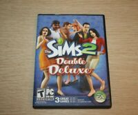 THE SIMS 2: Double Deluxe (PC: Windows, 2008) w/ Product Key Complete