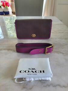 COACH 1941 Dinky Bag Colorblock Brass/Dark Teak Multi 89171
