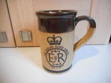 Madrigal Stoneware Queen Elizabeth II Silver Jubilee mug 1977
