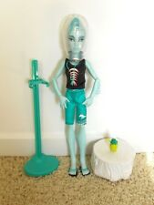 MONSTER HIGH Gil Webber Skull Shores Doll EUC
