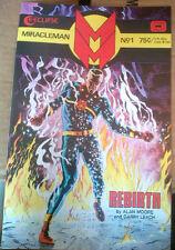 Miracleman #1 Alan Moore, Gary Leach Original 1985 Series