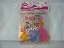"EK Success Disney ""Multi Princess"" We Love To Sparkle-5 pcs Dimensional Stickers"