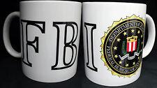 FBI,FEDERAL BUREAU OF INVESTIGATION ,FUN ,MUG