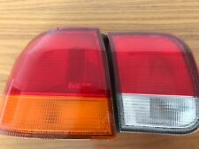 Honda Civic 1996 EK Sedan Original Genuine Tail Lights. Full Left Hand Set. EC