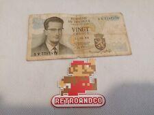 ancien billet Belge de 20 francs de 1964