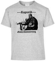 T-Shirt Sons of Odin Mein Gott hat einen Hammer Wikinger Thor Walhalla Germanen