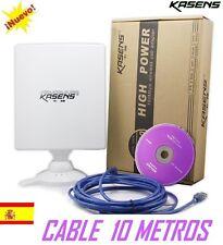 ANTENNE USB,PANNEAU,WIFI,KASENS N5200,80dbi,6600mw RALINK 3070 similaire,NETSYS
