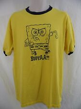 "SPONGEBOB SQUAREPANTS ""BOOYAA!!!"" - Mens XL - Tee T-shirt by NICKELODEON"