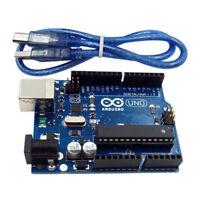 UNO R3 MEGA328P ATMEGA16U2 Development Board + USB Cable Compatible for Arduino