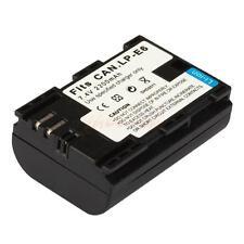 LP-E6 Li-ion Battery for Canon EOS 7D 70D 5D Mark II III DSLR Camera CA