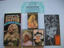 Dolly Parton - The Best Of. UK 1984  3 x Cassette Tape Album Box Set M-/M-/M-/EX