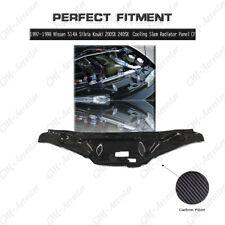 CF Cooling Slam Radiator Panel For 97-98 Nissan S14A Silvia Kouki 200SX 240SX