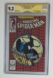 The Amazing Spider-Man 300* 9.2 SS CGC * Signed: Todd McFarlane