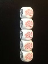 poker dice No case used please study photo Free Uk Postage, List 165