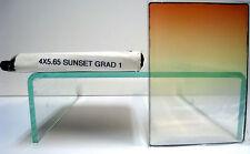 "4x5.65"" Sunset Grad 1 Tiffen Filter Vertical Graduated Filters 4565CGSU1V"