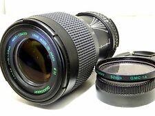 Quantaray 70-210mm f4-5.6 Lens for Nikon manual focus Ai-s mount mint condition