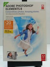Adobe Photoshop Elements 8: Windows OS (Retail Version ~ NEW / Factory Sealed)