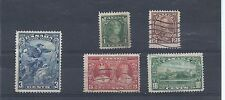 Canada stamps. 1934 & 1935 lot Used. (X854)