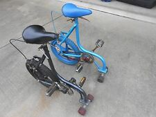 Two Rare 1980s Skate Cycle Skateboard Bicycles