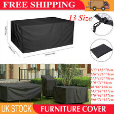 Waterproof Garden Patio Furniture Covers Cover UK Outdoor Sofa Cube Table Rattan