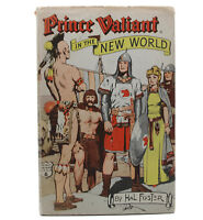 Vintage 1950s Hal Foster Prince Valiant In The New World Hardcover Book DJ
