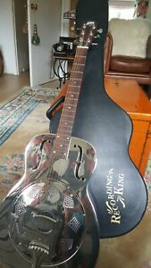 Recording King Rm998 R resonator guitar.