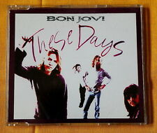 Bon Jovi  These Days cd single Promo 2 tracks hard rock glam pop UK