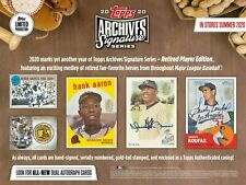 2020 Topps Archives Signature Series Retired Player Edition Baseball Box