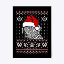 """Plott Hound Lover Christmas Tee Gift Poster - 18""""x24"""""""