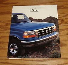 Original 1992 Ford F-Series Truck Sales Brochure 92 F-150 F-250