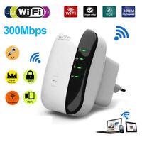 802.11 Wifi Repeater 300Mbps Wireless-N AP Range Signal Extender Booster EU US U