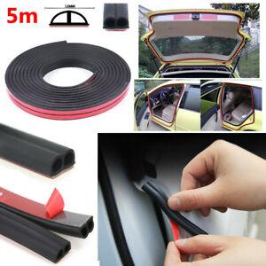 Weatherstrip B-type Car Door Boot Seal Strip Edge Trim 16 Ft Rubber Seal Tapes