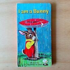 I Am A Bunny - Ole RISOM Richard SCARRY - A Golden Sturdy Book