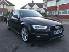 AUDI A3 2.0TDI S LINE DAMAGED REPAIRABLE SALVAGE