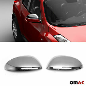 Fits Nissan Juke/Cube 2011-2014 Stainless Steel Chrome Side Mirror Cover 2 Pcs