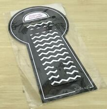 Thirty-one Magnetic Bookmark in Black Chevron